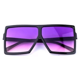Accessories - Purple oversize sunglasses